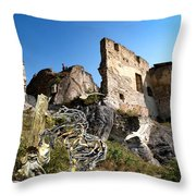 By The Ruins 21 Throw Pillow
