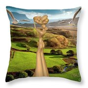 By The Sea 24 Throw Pillow