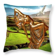 By The Sea 25 Throw Pillow