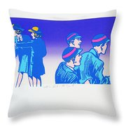 By The Time I Got To Woodstock Throw Pillow