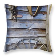 By The Tool Shed Throw Pillow