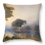 By The Waters Of Babylon Throw Pillow