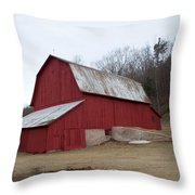By The Woods Throw Pillow