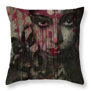 Bye Bye Blackbird Throw Pillow