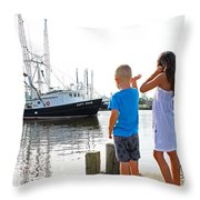 Daddy's Home  Throw Pillow
