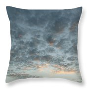 Bye Sun Throw Pillow