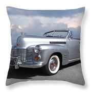 Bygone Era - 1941 Cadillac Convertible Throw Pillow