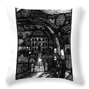Bypass Throw Pillow