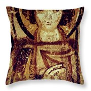 Byzantine Icon Throw Pillow by Granger