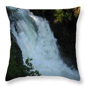 Bz Falls 2 Throw Pillow