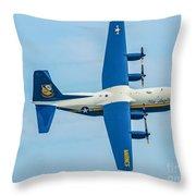 C-130 Fat Albert Throw Pillow