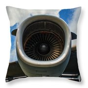 c-17 Power Throw Pillow