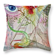 C-factor Throw Pillow