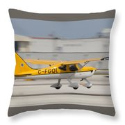 C-fgql Aircraft Throw Pillow