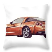 C6 Throw Pillow