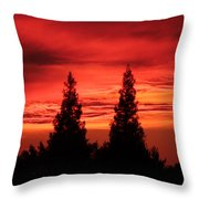 Ca. Dreaming Throw Pillow