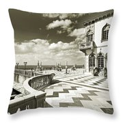Ca D'zan Mansion Throw Pillow