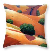 Ca Rollers Trip II Throw Pillow