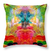 Ca-the-na-goddess-mohave Throw Pillow