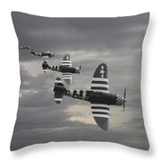 Cab Rank Throw Pillow