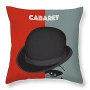 Cabaret - Alternative Movie Poster Throw Pillow