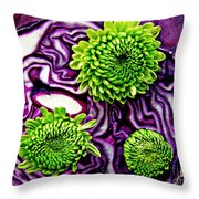 Cabbage Patch 2 Throw Pillow