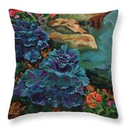 Cabbage Patch Throw Pillow