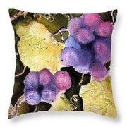 Cabernet Harvest 2 Throw Pillow