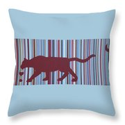 Cabernet Prey Throw Pillow