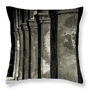 Cabildo Columns Throw Pillow by KG Thienemann