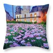 Cabildo De Buenos Aires Throw Pillow