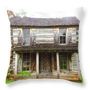 Cabin #2 Throw Pillow