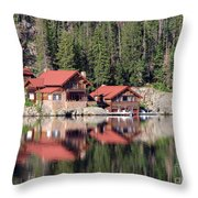 Cabin Throw Pillow