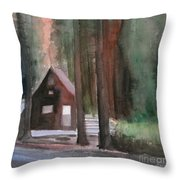 Cabin In The Woods 08 Throw Pillow