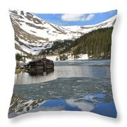 Cabin On Chinns Lake 2 Throw Pillow