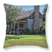 Cabin1 Throw Pillow