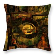Cabinet Of Curiosities Throw Pillow