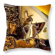 Cabinet Top Throw Pillow