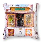 Cable Car No. 10 Throw Pillow