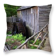 Cable Mill 3 Throw Pillow
