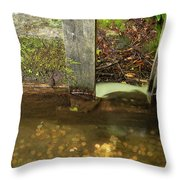 Cable Mill Flume 1 B Throw Pillow