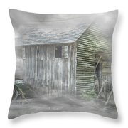 Cable Mill Throw Pillow