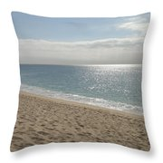 Cabo Beach Throw Pillow