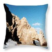 Cabo San Lucas Arch Throw Pillow