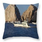 Cabo San Lucas - Sport Fishing Throw Pillow