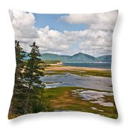 Cabot Trail In Nova Scotia Throw Pillow