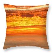Cabrillo Sunset Throw Pillow