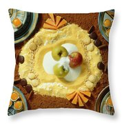 Cacao And More Throw Pillow