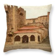 Caceres Spain Throw Pillow