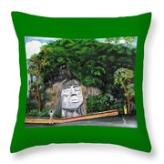 Cacique Mabodomaca Throw Pillow